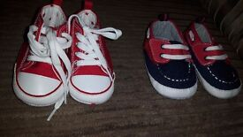 Next pram shoes never worn 3 to 6 months