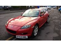 Mazda Rx8 with new engine. Red Pearl. Great condition. Bargain!!