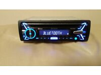 CAR HEAD UNIT SONY XPLOD N4100BT CD MP3 PLAYER WITH BLUETOOTH USB AUX NFC 4x 55 AMP STEREO RADIO BT