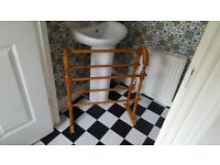 Vintage Retro Style Country Cottage Style Pine Towel Rail