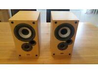 Denon Speakers MISSION SC-M10K 50 watts Book Shelf