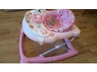 Almost New Pink Graco Walker