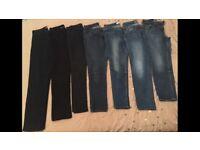 Ladies Jeans Size 12 Bundle-Fashionable Names inc: Not Your Daughters Jeans-Oasis-Wallis & NEXT