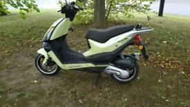 Leeway 50cc 2stroke scooter