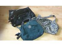 Selection of Kipling bags