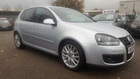 VW GOLF 2.0 GT 140 TDI 6 SPEED 5 DOOR 2008 / 2 KEEPERS / 12 MONTH MOT / SERVICE HISTORY / HPI CLEAR