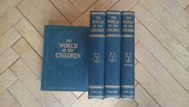 World of Children Set of Vintage Books