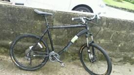 Mens Claud Butler Cap wrath mountain bike 26inch wheels