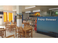 CAFE / RESTAURANT FOR RENT AT PENCLAWDD SWANSEA SA4 3XN