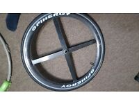 Spinergy Carbon front wheel 700c