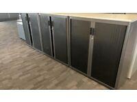 office furniture 1 meter wide tambour cupboards