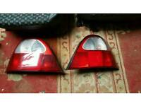 Mg ZR tail brake lights