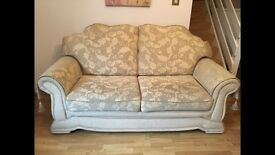 Three seater sofa and 2 armchairs - great condition