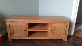 Solid Oak TV Stand/Cabinet