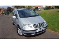 Volkswagen Sharan 1.9 TDI PD SE 5dr 2 KEYS, LONG MOT