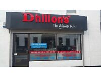 Dhillon's Staff Wanted (Bathgate, Livingston & Bo'ness) Multiple Jobs. Part & Full Time Available