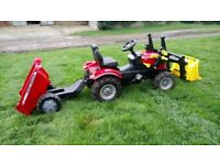 Rolly Toys Massey Ferguson pedal tractor