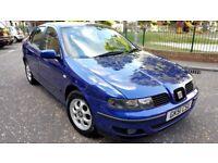 seat toledo 1.9 tdi diesel manual 51 plate 2002 metallic blue