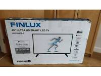 49 inch Ultra HD Smart LED TV Refurbished by Finlux