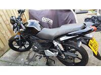 2014 -KSR Worx 125cc Motorbike (LearnerLegal Bikes)