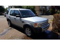 Land Rover Discover 3 tdv6 GS 2007,Silver, Excellent Condition, 7 Seats @ £7000 offers invited