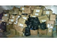 new clothes job lot one container all the clothes are mix boxes ready for export