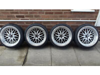 macato alloys and tyres 4x18