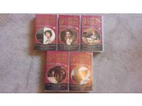 The Duchess of Duke Street VHS Tape Set parts 1 to 5
