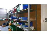 Racking, cages and bins..... Going cheap