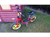 Puky Balance Bike inc brake, stand & box. Super condition, made in Germany, From age 2+ to 5 years