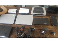 Joblot of Business Network wireless hubs BT TalkTalk Asus PC Computer Internet