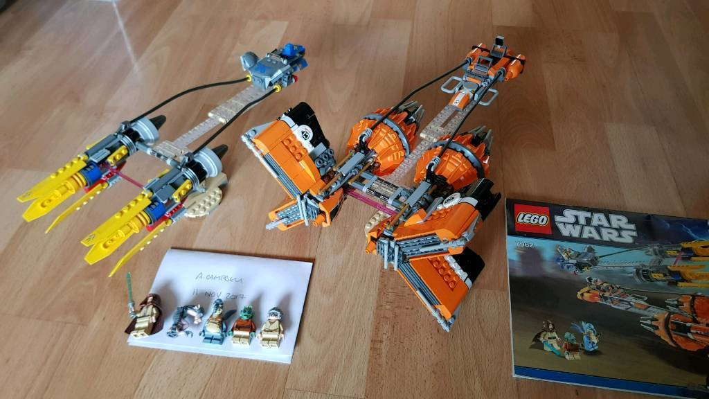 Lego Star Wars Pod Racers