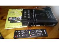Recordable freeview box