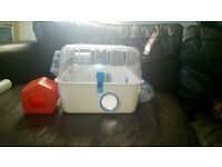 Hamster Starter cage with wheel, house and bowl NW10 £15 ono