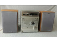 SONY MICRO HIFI CMT-CP2W CD Player - Radio - Dual Tape Mini Hifi Stereo Japan