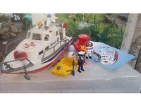 PLAYMOBIL: Rescue Boat & Submarine