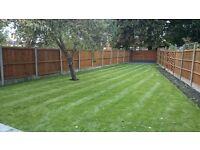 Gardening, maintenance, turfing, fencing, paving
