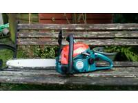 Makita petrol chainsaw
