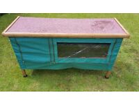 Lazy Bones Guinea Pig / Rabbit Hutch on Legs complete with cover