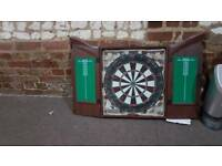 Darts boards and case