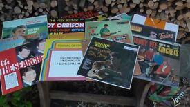 Records Vinyl 1960's lp's £50 Downend Bristol Crickets, Duane Eddy etc