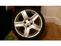 """17"""" Inch Peugeot / Citreon / Ford Challangers Alloy Wheels"""