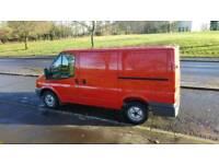 58 ford transit mk7 t280 swb full years mot one owner low mileage 53k sim vivaro trafic