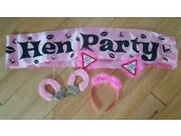 Henley party accessories