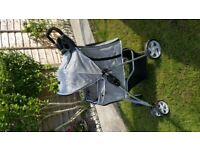 Dog Puschair/Buggy/Stroller - Used twice :(