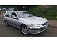 2003/53 Peugeot 406 SE 2.0 HDI AUTO 110 Esteat NAV FULL SERVICE HISTORY T/BELT CHANGED HALF LEATHER