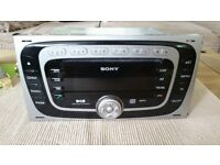 for sale SONY DAB RADIO MP3 like new 2012 WITH CODE
