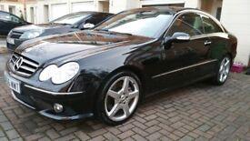 Mercedes clk 320 cdi sport amg 2007 fsh