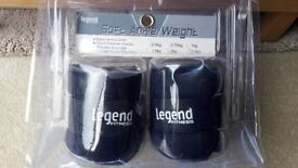 2 x 2KG ANKLE / WRIST WEIGHTS * * * BRAND NEW * * *