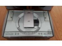 JVC FS-SDR-Micro Tuner and CD player sold with SONY SS-NX1 Speakers, full working order great sound.